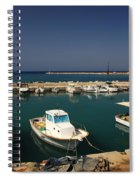 Sami Harbour Kefalonia Spiral Notebook