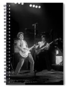 Sammy And Bill On Stage In Spokane In 1977 Spiral Notebook