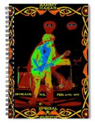 Sammy And Special Guests 1977 Spiral Notebook
