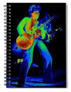 Sammy Cosmic Hagar In Spokane 1977 Spiral Notebook