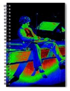 S H In Technicolor 1977 Spiral Notebook