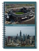 Sample Aerial Photography Services Readme Spiral Notebook