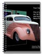 Sample Car Artwork Readme Spiral Notebook
