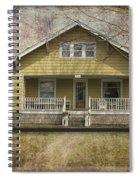 Sample Paneled Yellow Bungalow Spiral Notebook