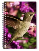 Sampling The Flowers Spiral Notebook