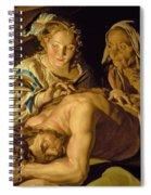 Samson And Delilah Spiral Notebook