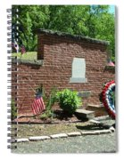 Samuel Huntington Tomb Spiral Notebook