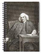 Samuel Johnson, English Author Spiral Notebook