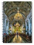 San Agustin Church  Spiral Notebook