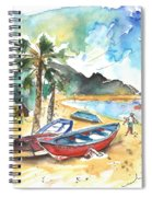 San Andres 01 Spiral Notebook