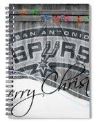 San Antonio Spurs Spiral Notebook