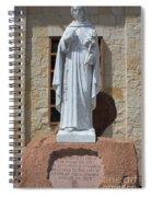 San Antonio Statue Spiral Notebook