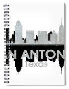 San Antonio Tx 4 Spiral Notebook