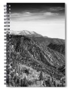 San Bernardino Snow Spiral Notebook
