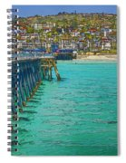 San Clemente Pier Spiral Notebook