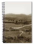 San Diego Mission In Mission Valley California Circa 1909 Spiral Notebook