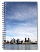 San Diego Skyline Spiral Notebook
