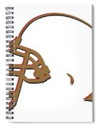 San Francisco 49ers Helmet Spiral Notebook