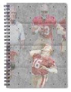 San Francisco 49ers Legends Spiral Notebook