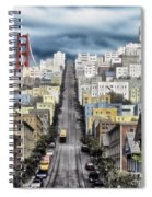 San Francisco Backlot Walt Disney World Spiral Notebook