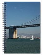 San Francisco Bay Bridge West Span Vii Spiral Notebook