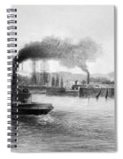 San Francisco Bay, C1889 Spiral Notebook
