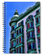 San Francisco Glow By Diana Sainz Spiral Notebook