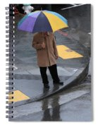 San Francisco In The Rain Spiral Notebook