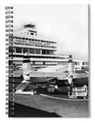 San Francisco International Airport Passenger Terminal Circa 195 Spiral Notebook