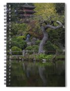 San Francisco Japanese Garden Spiral Notebook