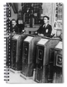 San Francisco Kinetoscope Spiral Notebook