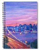 San Francisco Nights Spiral Notebook