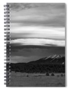 San Francisco Peaks From Williams Spiral Notebook