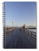 San Francisco Pier Spiral Notebook