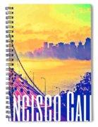 San Francisco Postcard Spiral Notebook