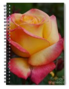 San Francisco Rose Garden Rose Spiral Notebook