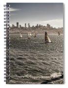 San Francisco Sails Spiral Notebook