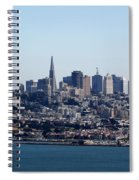 San Francisco Skyline Spiral Notebook