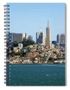 San Francisco Skyline Spiral Notebook