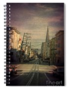 San Francisco Street Spiral Notebook