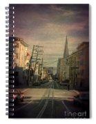 San Francisco Street Spiral Notebook