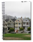 San Francisco - The Painted Ladies I Spiral Notebook