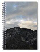 San Gabriel Mountains Evening Spiral Notebook