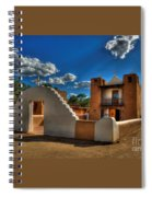 San Geronimo Church Taos Pueblo Spiral Notebook