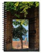 San Gimignano Door Spiral Notebook