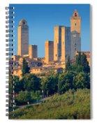 San Gimignano Skyline Spiral Notebook