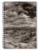 San Gimignano View Spiral Notebook