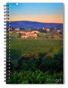 San Gimignano Vineyards Spiral Notebook