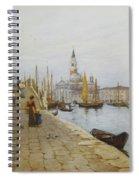 San Giorgio Maggiore From The Zattere Spiral Notebook