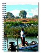 San Joaquin River Fish'n Spiral Notebook